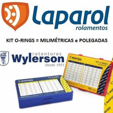 Anéis oring, anéis orings, kit oring Wylerson