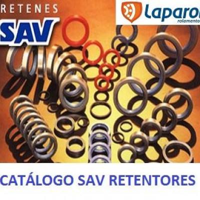 Catálogo conversão retentores SAV