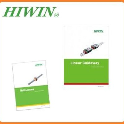 Catálogo de guia linear, catálogo de fuso de esferas HIWIN