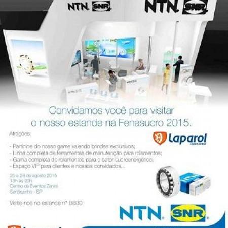 Fenasucro 2015 NTN-SNR Rolamentos