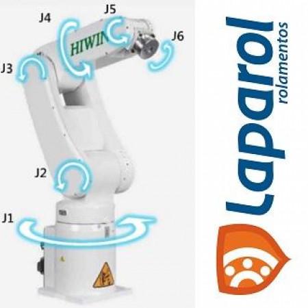 Robô articulado vertical 6 eixos, braço articulado, braço robótico industrial